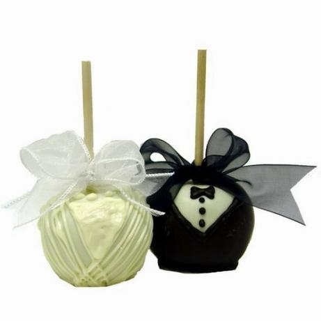 Bride & Groom Apples