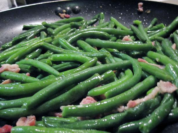 "Those ""Fancy Schmancy"" Green Beans"
