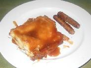 Kittencal's Overnight Layered Caramel French Toast