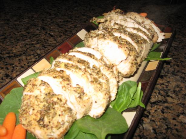 Herb Crusted Turkey Tenderloin