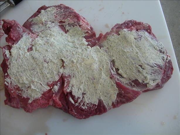 Herb Cheese Boneless Leg of Lamb