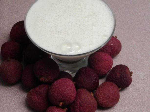 Lychee Lime Lassi (Yogurt Drink)