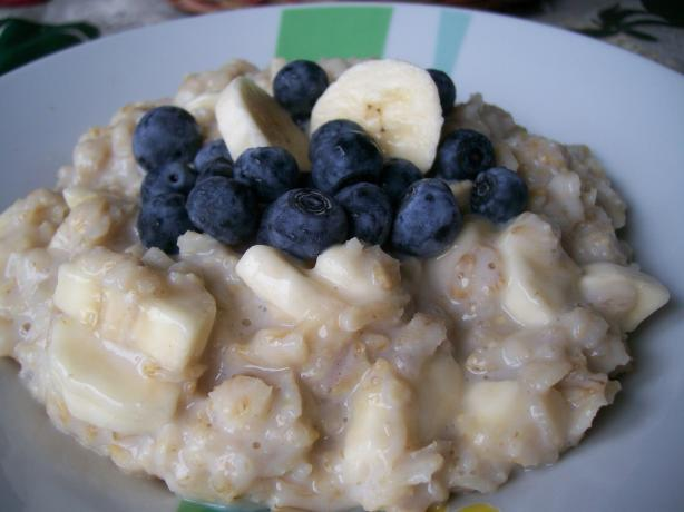 Sunday Morning Oatmeal--Barefoot Contessa Ina Garten