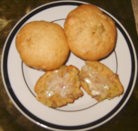 Orange Rhubarb Muffins