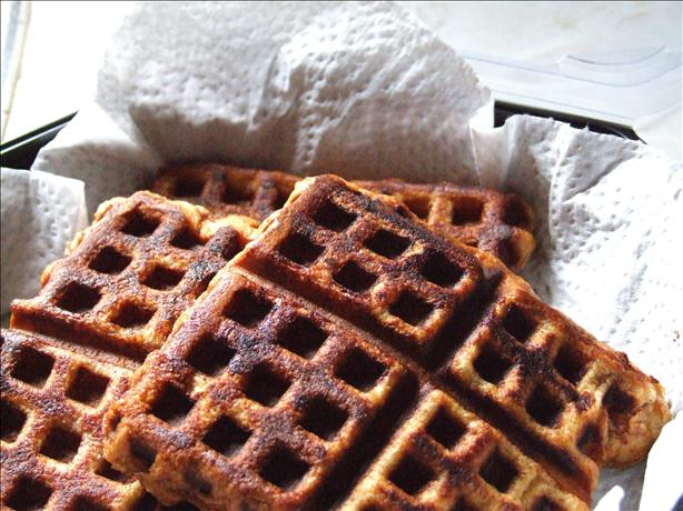 Lighter French Toast Waffles