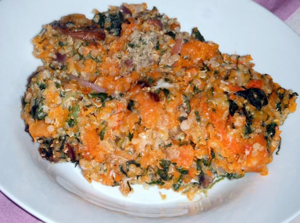 Butternut Squash Quinoa Casserole