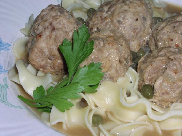 Meatballs in Caper Sauce (Konigsberger Klopse)