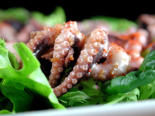 Squid Salad or Octopus Salad - Japanese Style