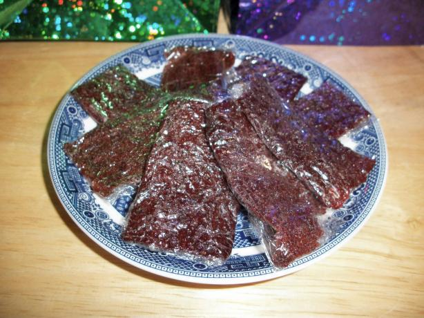 Fruit Leather (No Dehydrator Needed)