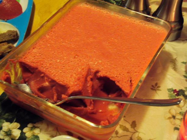 Cherry Cranberry Jello