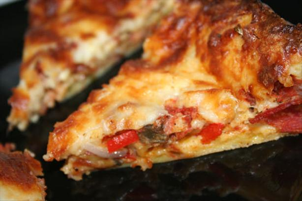 Pizza Puff Casserole