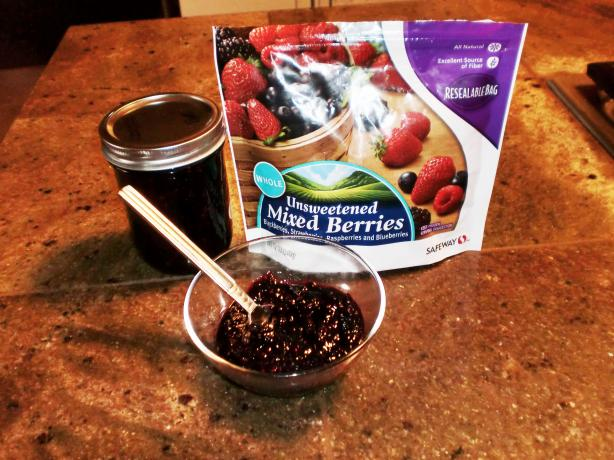 Easiest Mixed Berry Jam