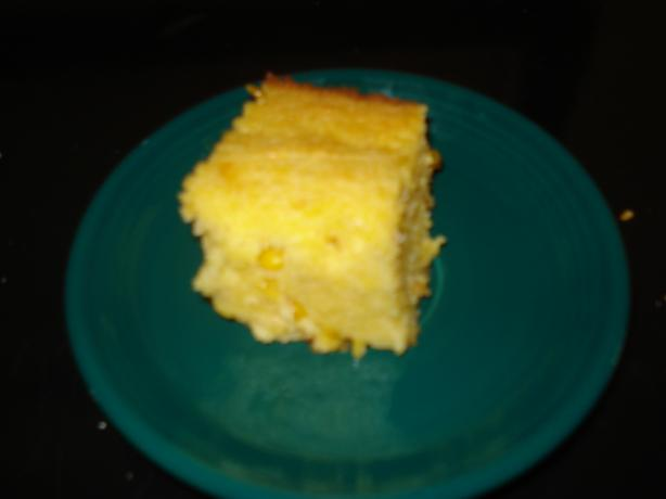 Sour Cream Cornbread With Honey Butter