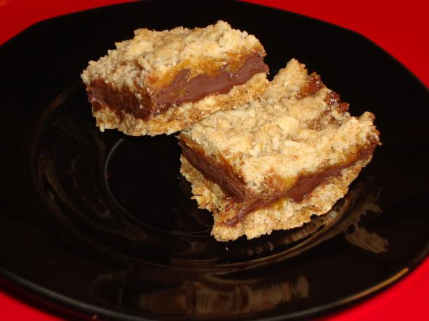 Suzanne's Caramel Oatmeal Bars