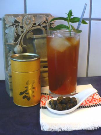 Lemongrass and Ginger Iced Tea(Laos)
