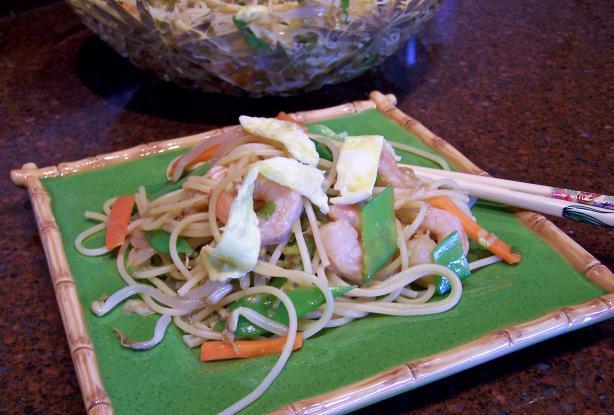 Szechuan Shrimp Noodle Salad