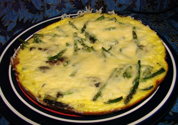 Emmentaler and Asparagus Frittata