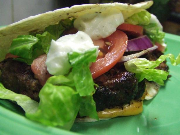 Mexican Grilled Hamburgers
