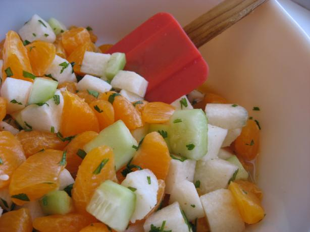 Ensalada Xek (Jicama and Mandarin Orange Salad)