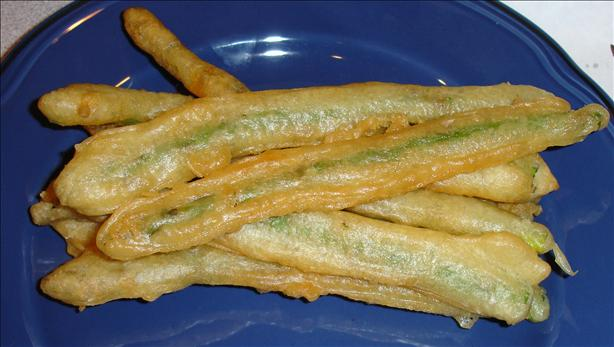 Vegetarian Planet Asparagus Wasabi Tempura