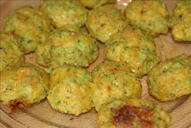 Amy's Cheezy Broccoli Balls