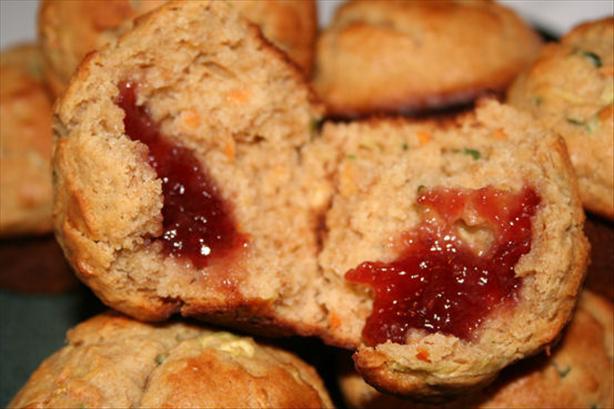 Pb & J Muffins