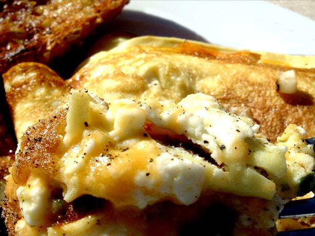 Triple Cheese Omelet