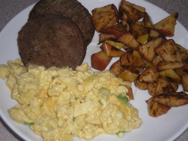 Egg, Sausage and Apple Brunch
