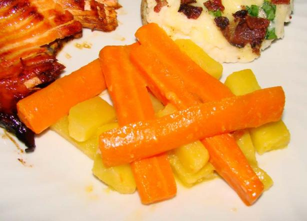 Carrots and Rutabagas With Lemon and Honey