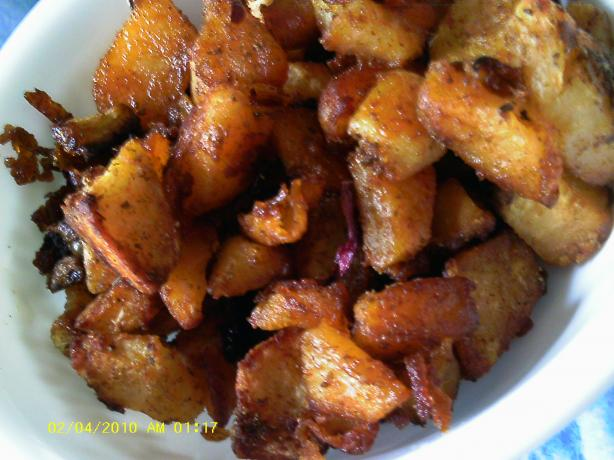 Oven Roasted Caraway Potatoes