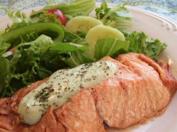 Salmon (Microwave-Cooked)
