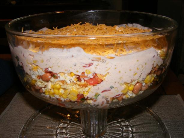 Tex-Mex Cornbread Salad