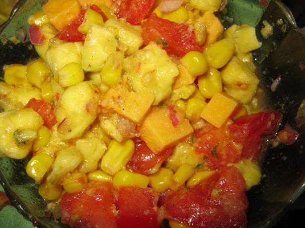 Mexican Panzanella Salad (Cornbread Salad)