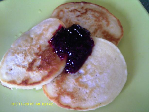 Tiganites: Greek Medallion Pancakes / Fritters
