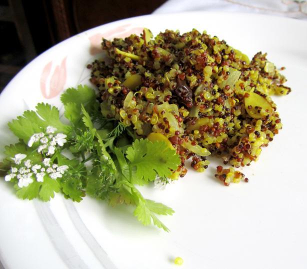 Moroccan Style Quinoa