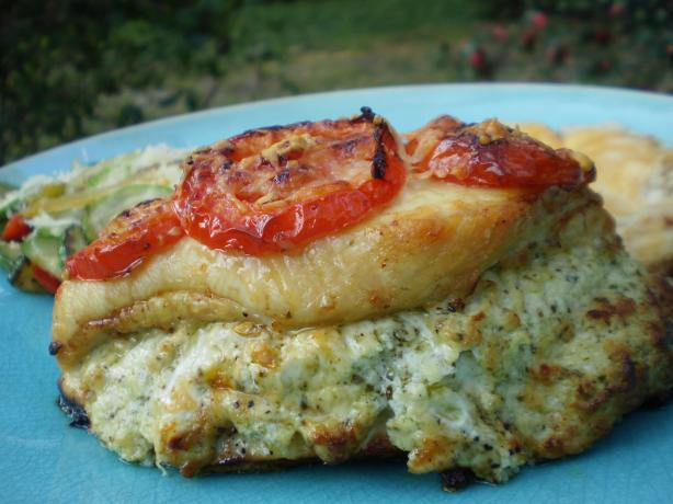Pesto Presto Chicken (Rachael Ray)