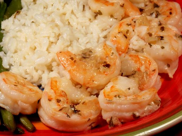 New Orleans-Style Scampi