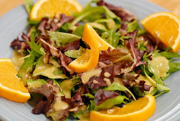 Gluten Free Mustard Marmalade Salad Dressing