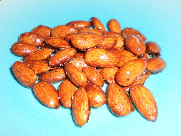 Cinnamon and Honey Almonds