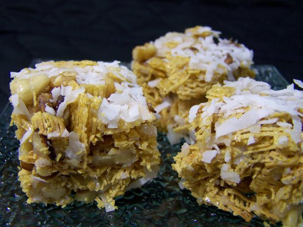 Coconut Pecan Squares-No Bake
