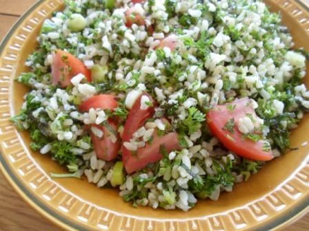 Rice Salad With Mint