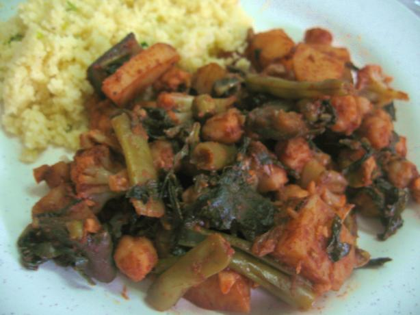 Vegetable Curry (Kenya)