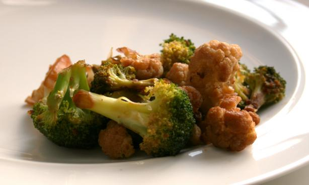 Broccoli, Garlic, Ginger Stir-Fry