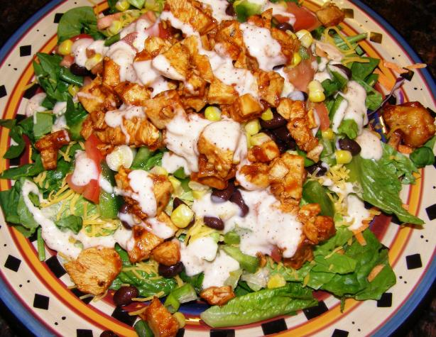 BBQ Ranchero Chicken Salad