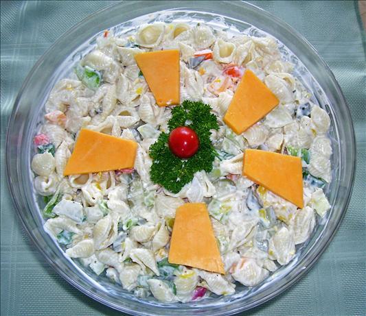 Sea Shell Pasta Salad or Wheelie Pasta Salad