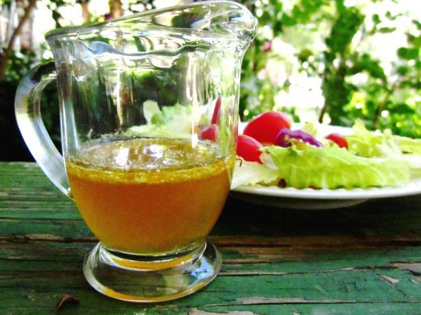 Burnt Honey and Orange Vinaigrette
