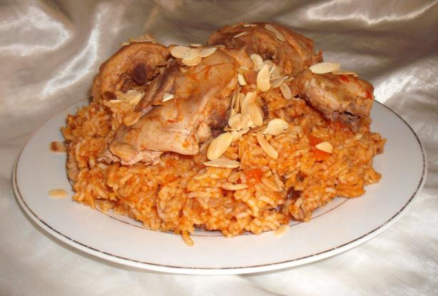 Al Kabsa - Traditional Saudi Rice (& Chicken) Dish