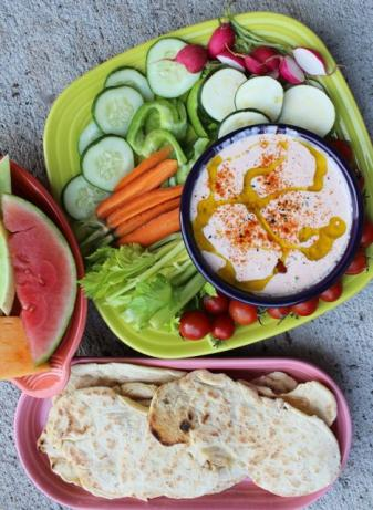 Middle Eastern Tahini and Yogurt Appetizer