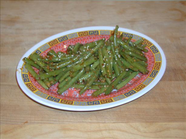 Hot Szechuan-Style Green Beans