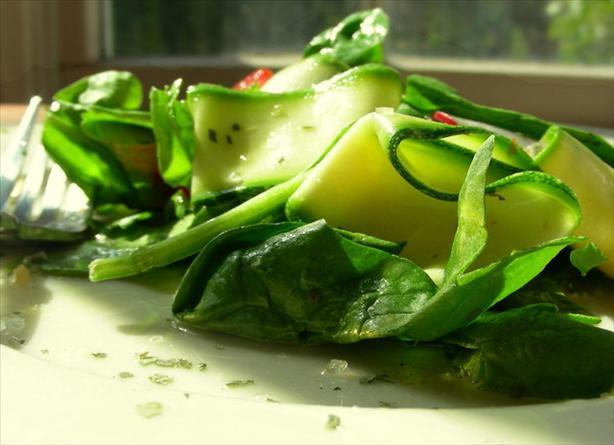 Zucchini-Tomato Salad